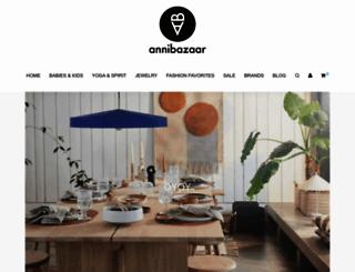 annibazaar.com screenshot
