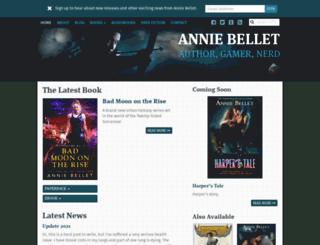 anniebellet.com screenshot