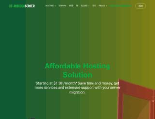 anniegoserver.com screenshot