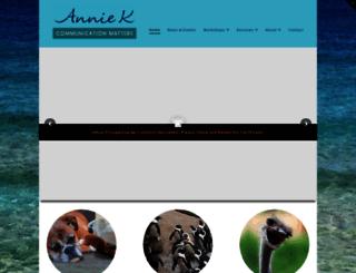anniek.com.au screenshot