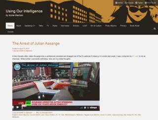 anniemachon.com screenshot