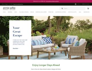 annieselke.com screenshot