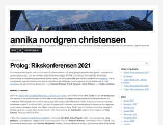annikanc.com screenshot