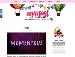 annisast.com screenshot