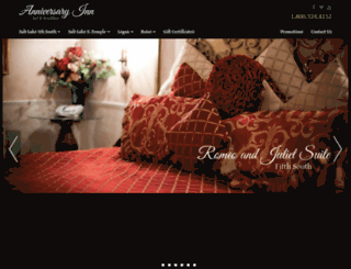 anniversaryinn.com screenshot