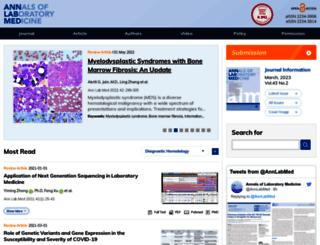 annlabmed.org screenshot