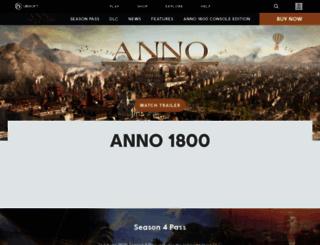 anno-game.ubi.com screenshot