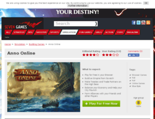 anno-online.browsergamez.com screenshot