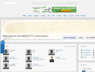 anno1777-community.com screenshot