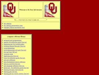 annogen.ouhsc.edu screenshot