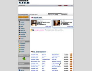 annonce-algerie.com screenshot