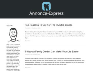 annonce-express.com screenshot