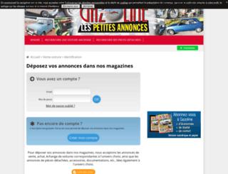 annonces.echappement.fr screenshot