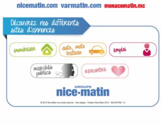 annonces.nicematin.fr screenshot