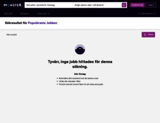 annonsoversikt.monster.se screenshot
