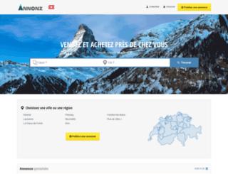 annonz.ch screenshot