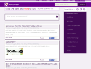 announceer.com screenshot