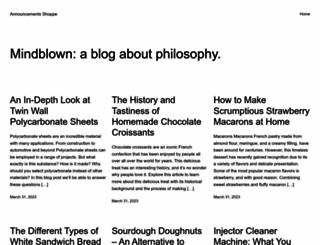 announcements-shoppe.com screenshot