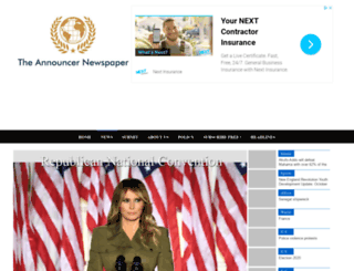 announcernewsonline.com screenshot
