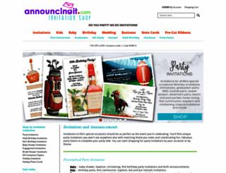 announcingit.com screenshot