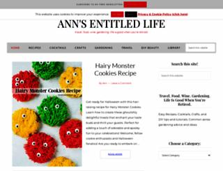 annsentitledlife.com screenshot