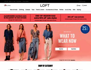 anntaylorloft.com screenshot