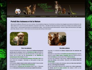 annuaire-animaux.net screenshot
