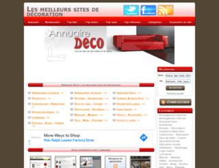 annuaire-deco.eu screenshot