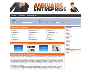annuaire-entreprise.eu screenshot