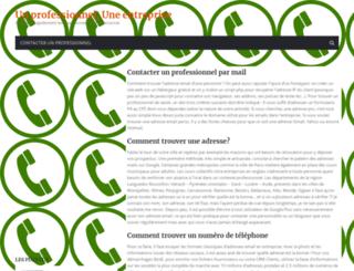 annuaire-professionnel-entreprises.com screenshot