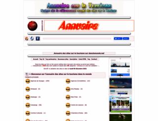 annuaire-tourisme.danslemonde.net screenshot