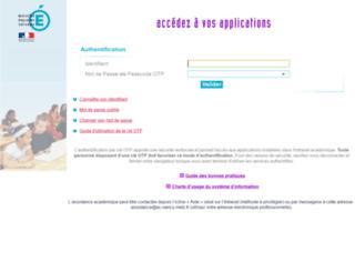 annuaire.ac-nancy-metz.fr screenshot