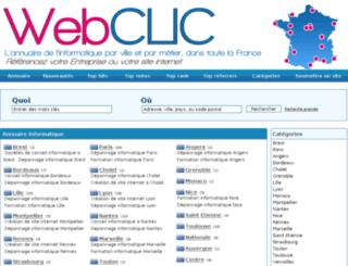 annuaire.aformaclic.fr screenshot