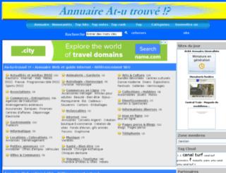 annuaire.at-u.net screenshot