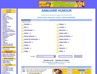 annuaire.humour.free.fr screenshot