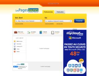 annuaire.ma screenshot