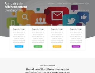 annuaireliensdur.fr screenshot