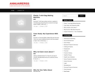 annuairerss.info screenshot