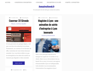 annuairesiteweb.fr screenshot