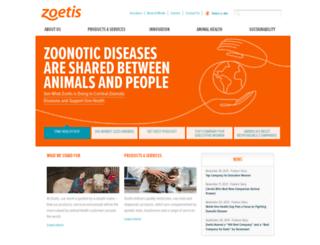 annual.zoetis.com screenshot