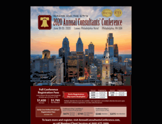 annualconsultantsconference.com screenshot