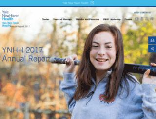 annualreport.ynhh.org screenshot