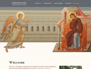 annunciationoca.org screenshot