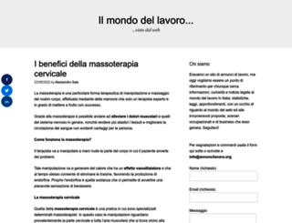 annuncilavoro.org screenshot