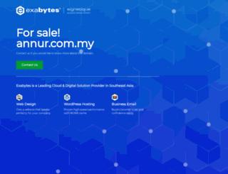 annur.com.my screenshot