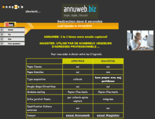 annuweb.eu screenshot