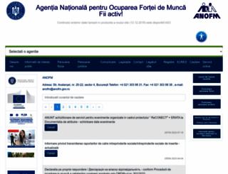 anofm.ro screenshot