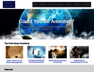 anointedjw.org screenshot