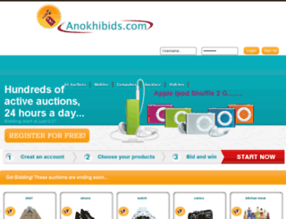 anokhibids.com screenshot