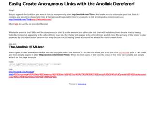 anolink.com screenshot